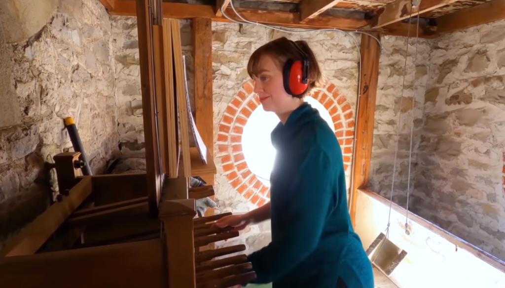 heather plays church bells