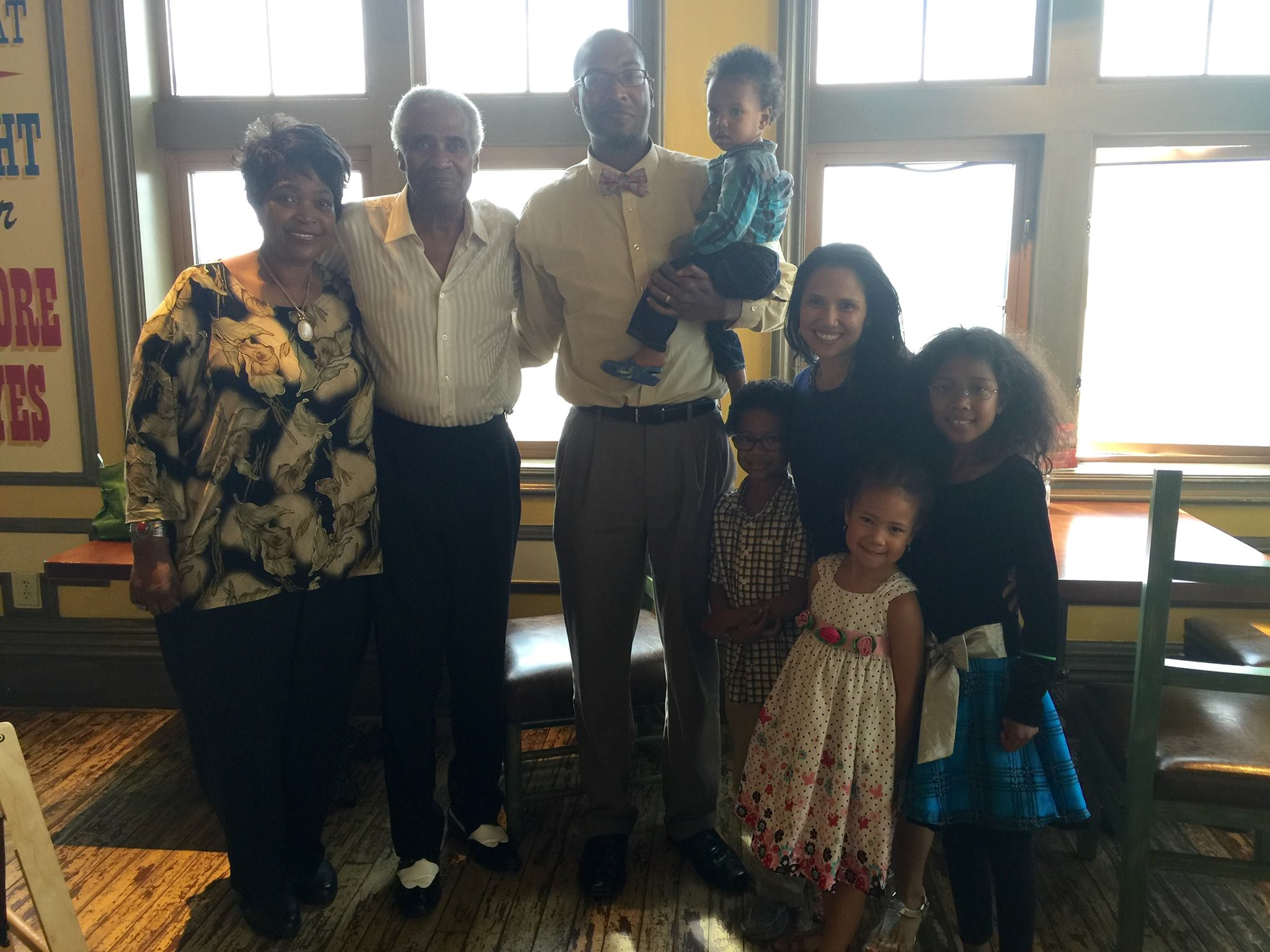 lamar with his family