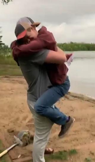 henry joe hugs will