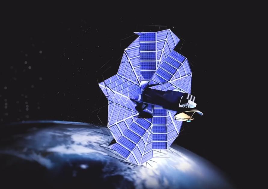 folding satellite