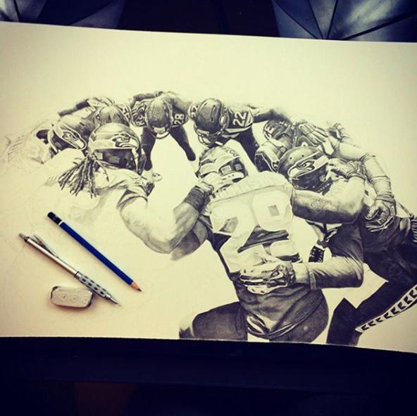 keegan hall drawing