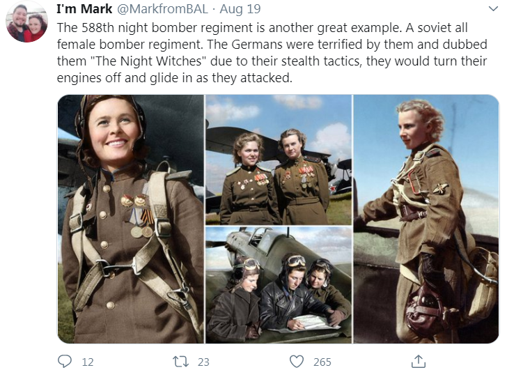night witches tweet
