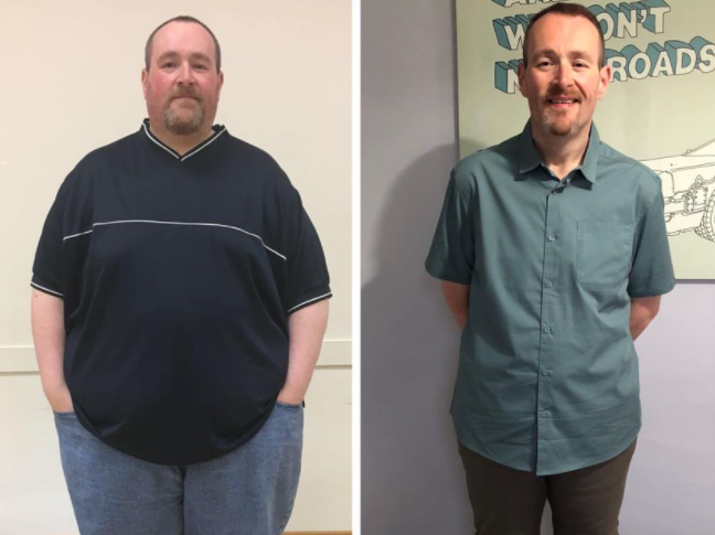 phil before after weight loss