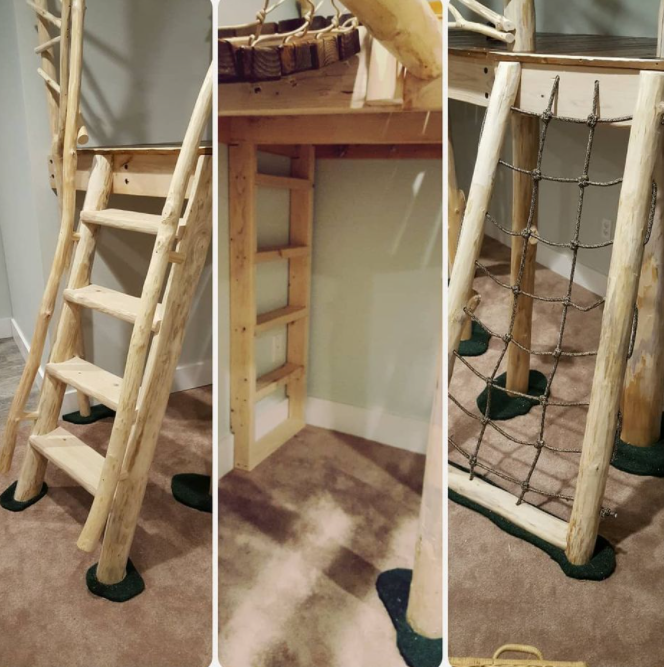 treehouse ladders