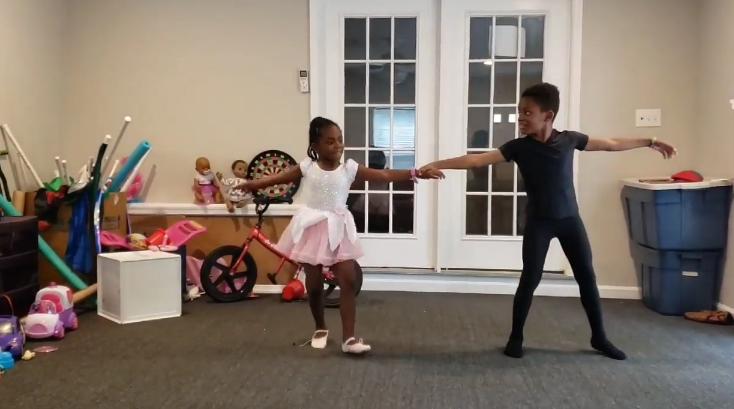 maximus and liliana's dance recital
