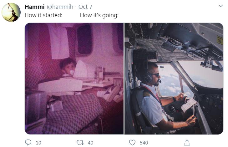 pilot then now