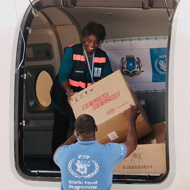 world food programme delivery
