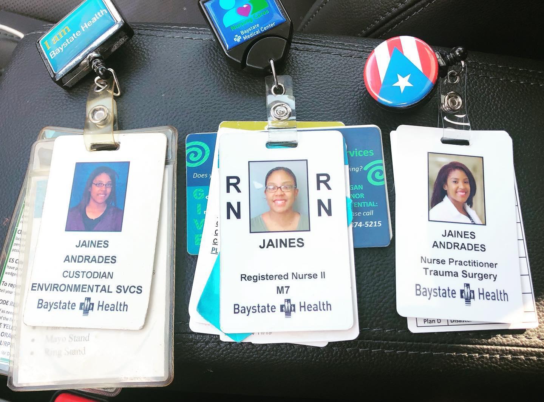 jaines's id badges