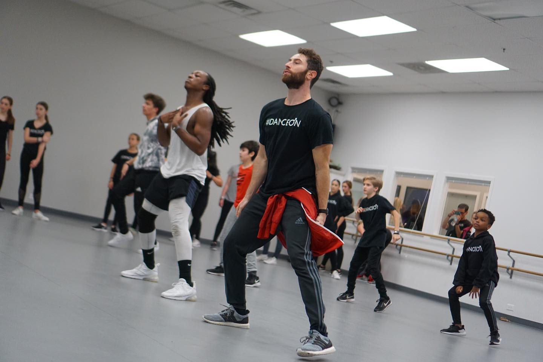dance on dancers