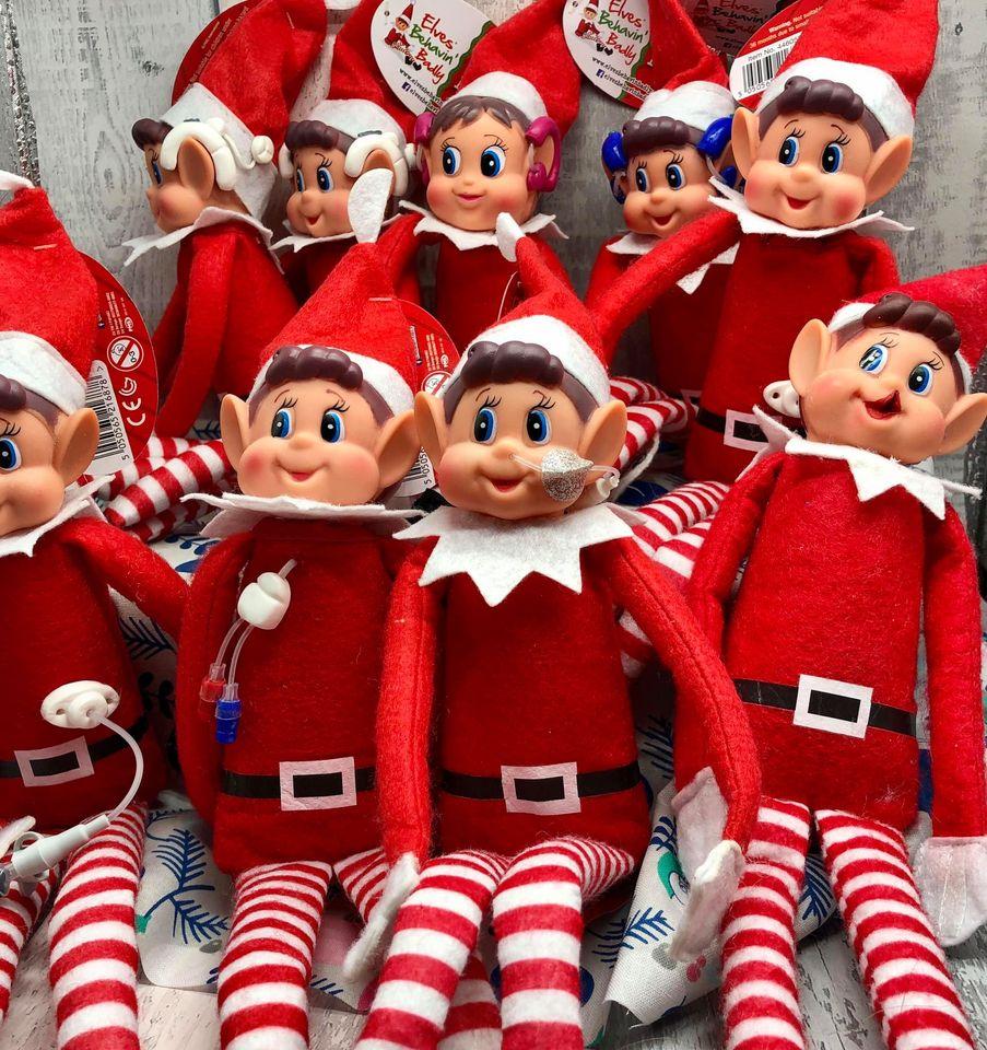 bright ears elf dolls