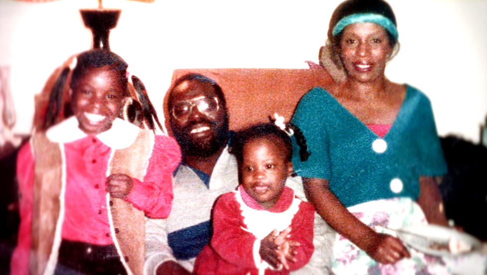 young deondra with family