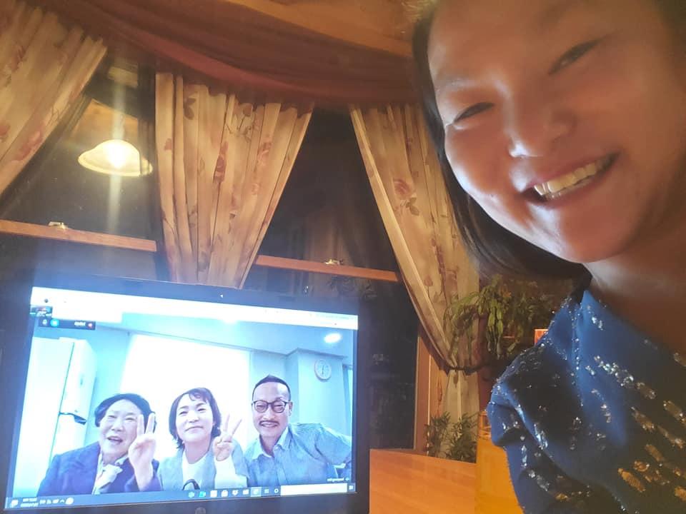 virtual family reunion