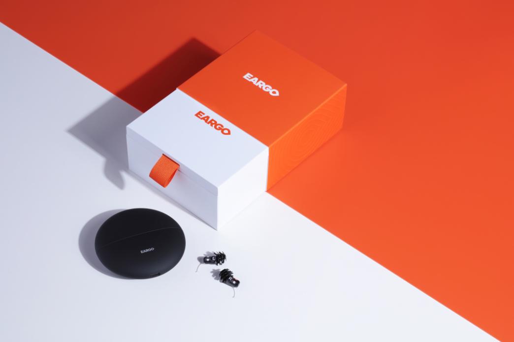 eargo hearing aids box