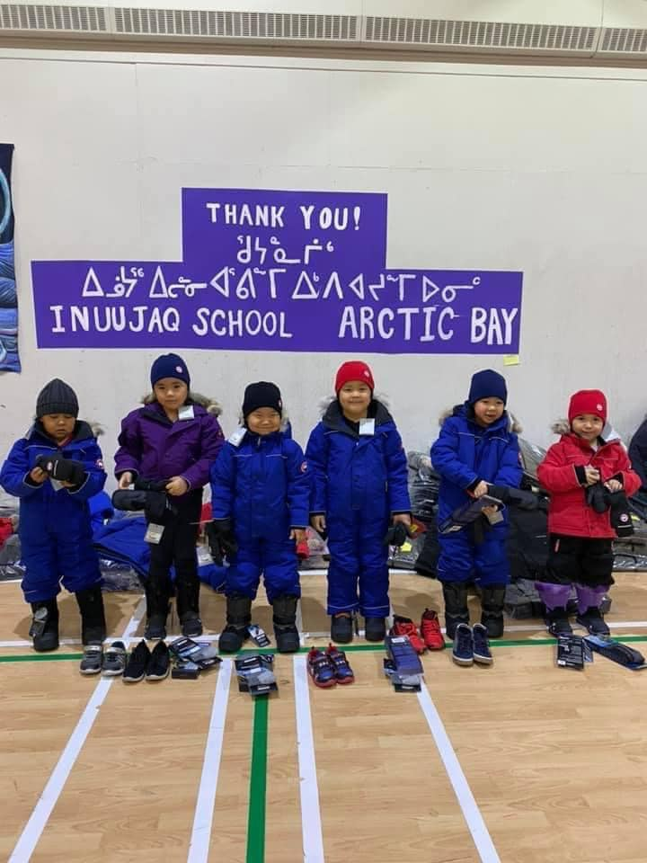 inuujaq school students