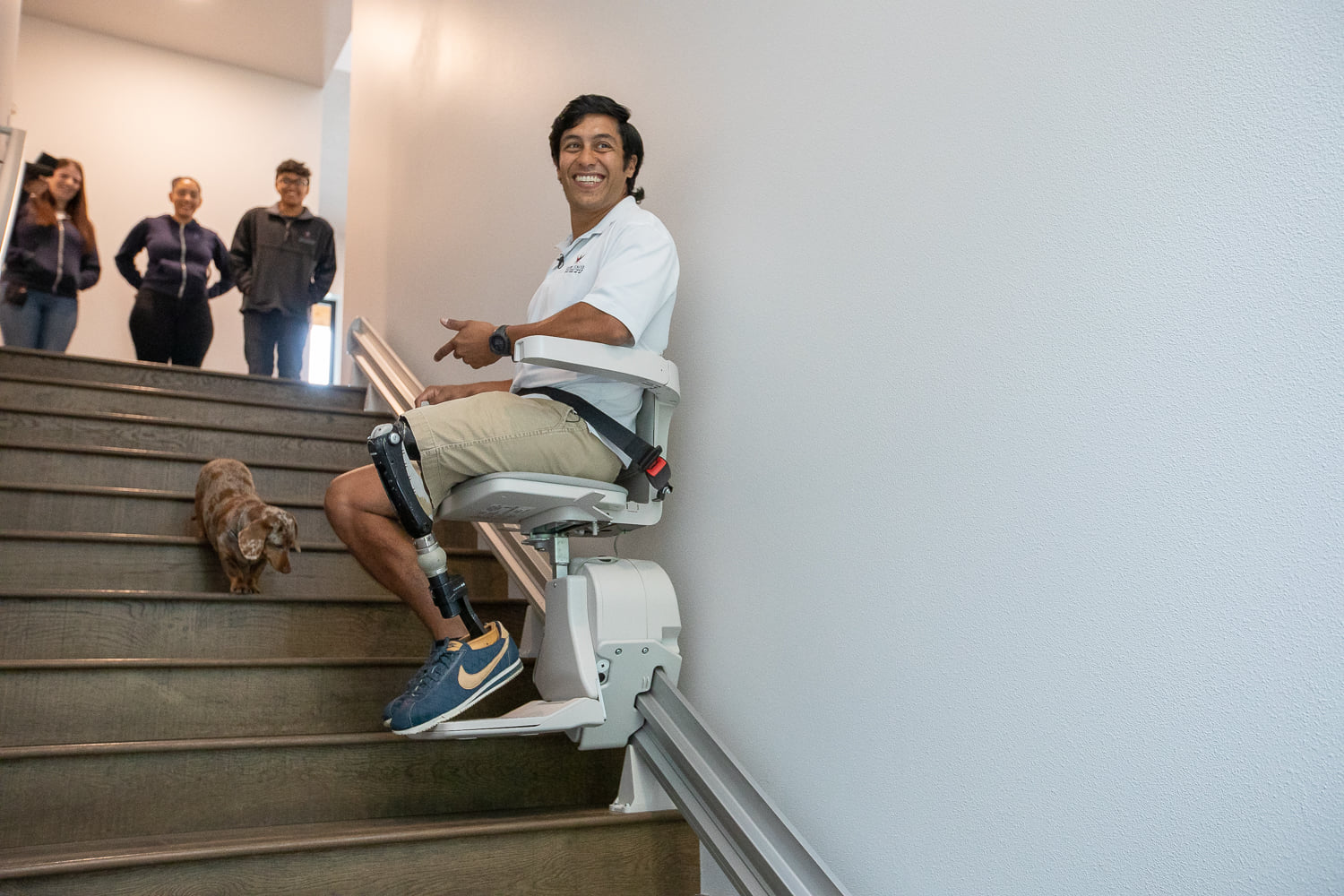 rico on stair lift