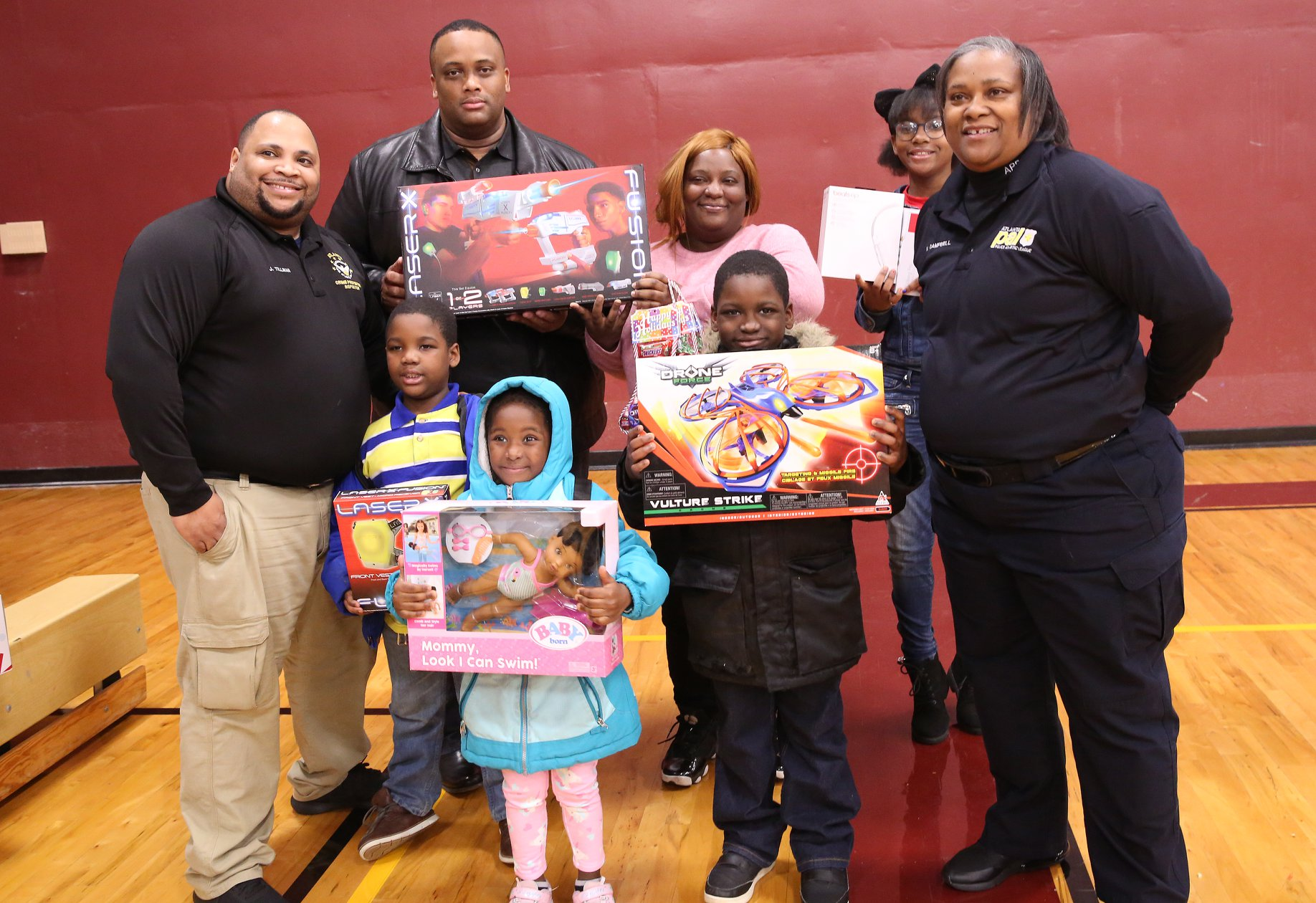 officer campbell's toy giveaway