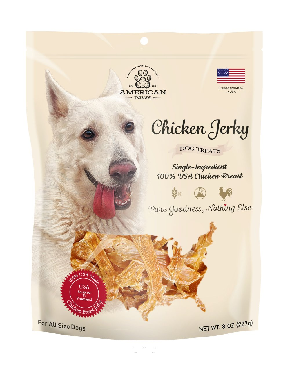 american paws chicken jerky
