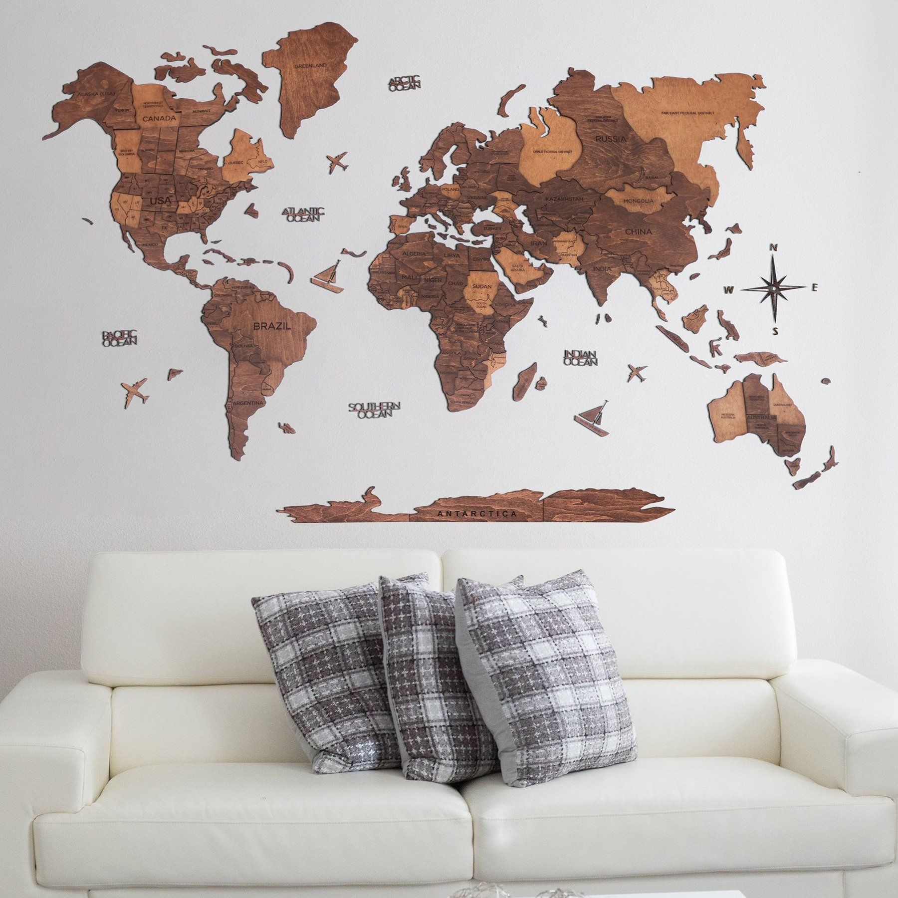 enjoy the wood world map