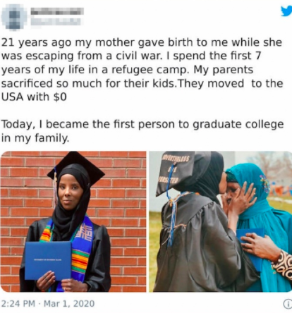 Uplifting story