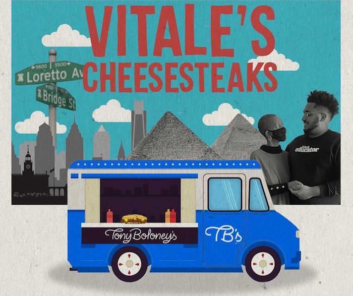 dustin's vitale's cheesesteaks flyer