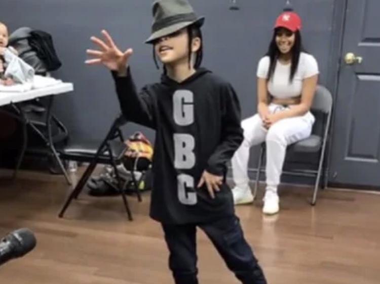 isaiah jordan dancing