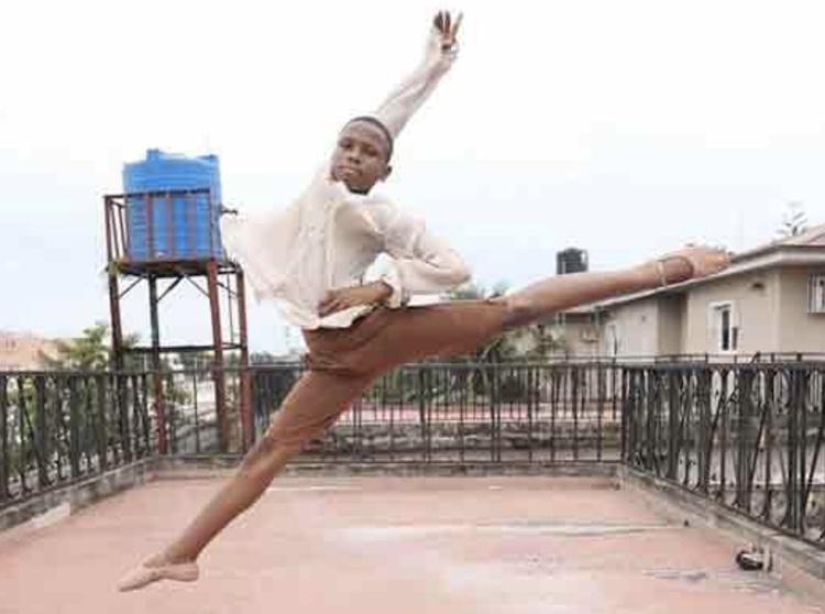 young boy ballerina