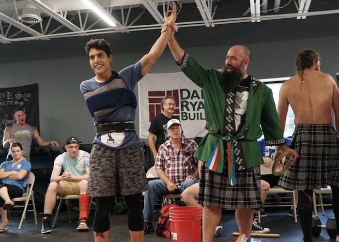 victor assaf as champion