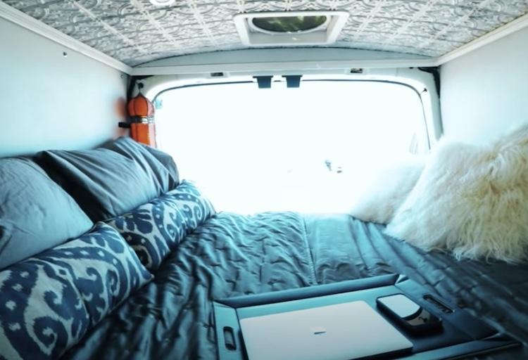 virginia's bed