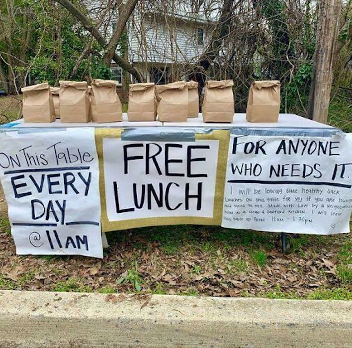 free lunch bags