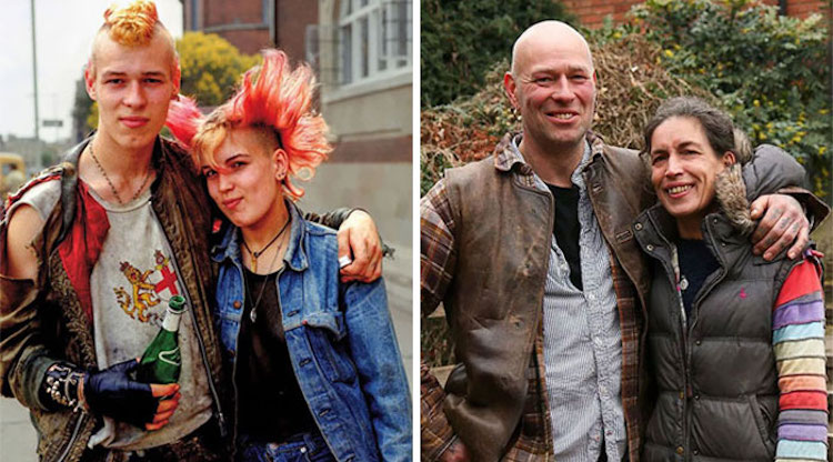 punk rock couple 40 years later