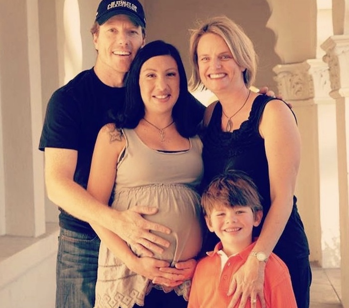 family with their surrogate