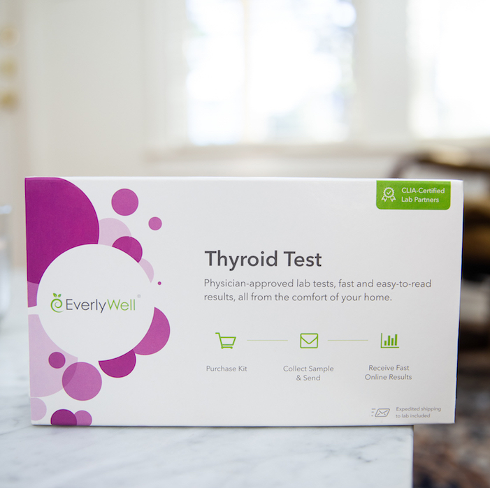 at-home thyroid test