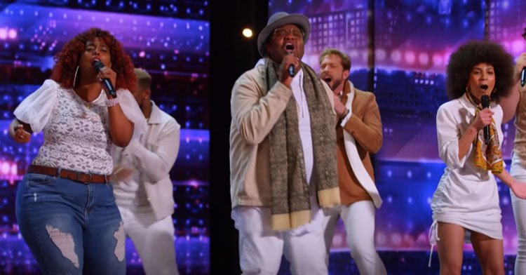"""Broadway Singers Form Gospel Choir And Bring Stunning """"Stand Up"""" Cover To AGT."""