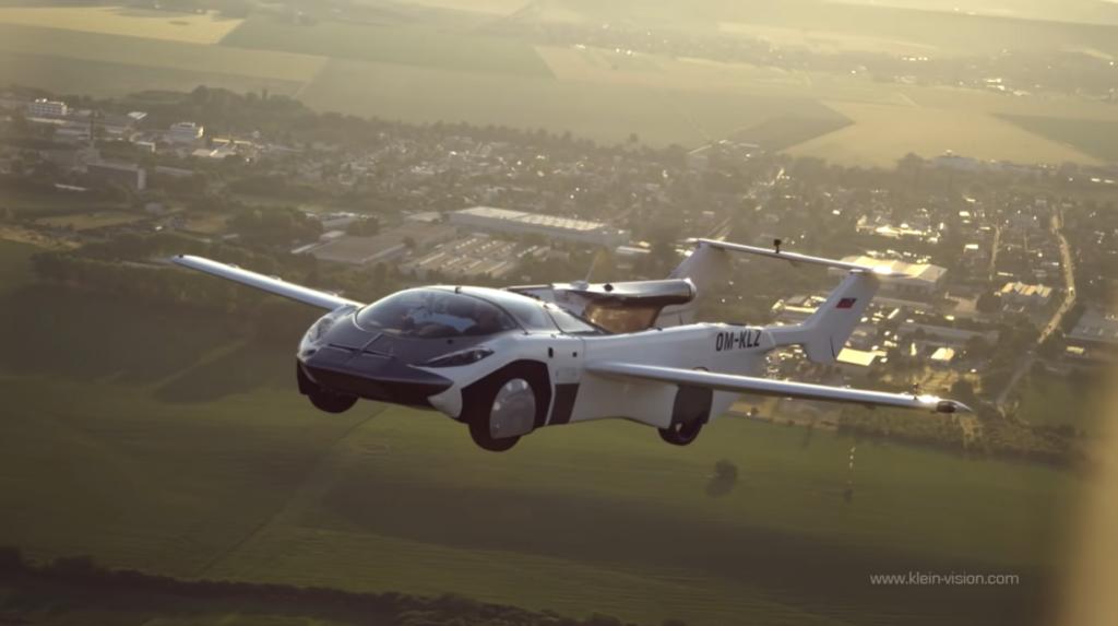 aircar flying