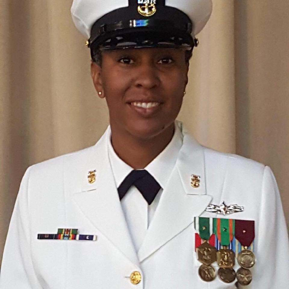 navy woman smiling