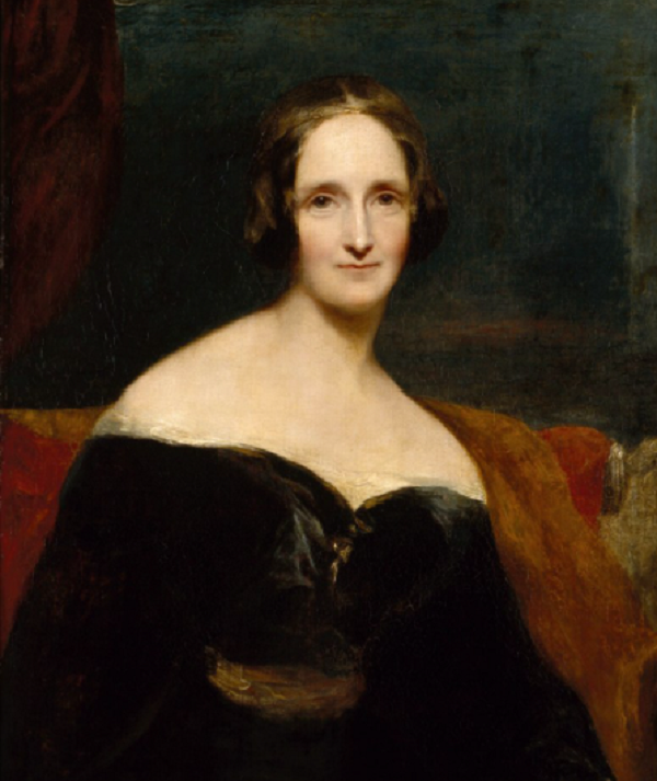 painting of mary shelley
