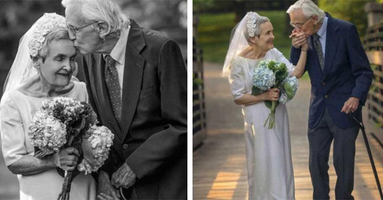 couple celebrates 50th anniversary in photo shoot