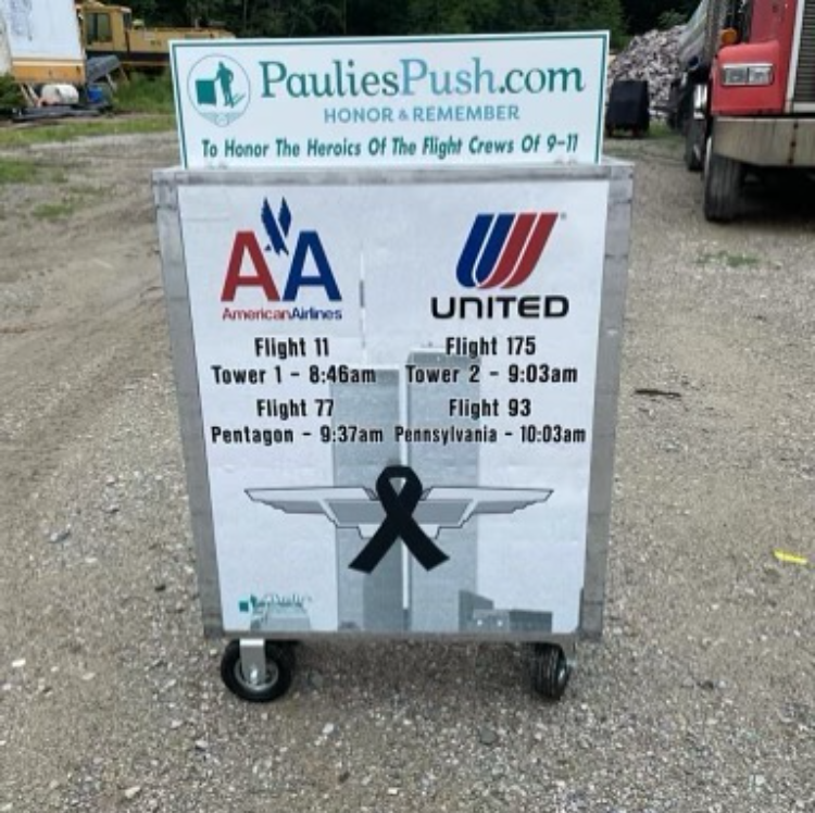 airline drink cart from paulie's push