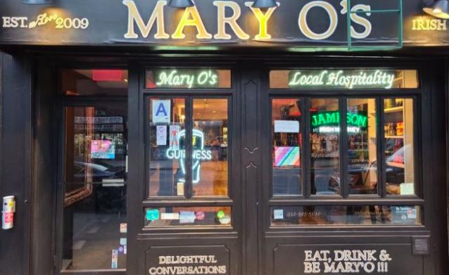 Mary O's pub