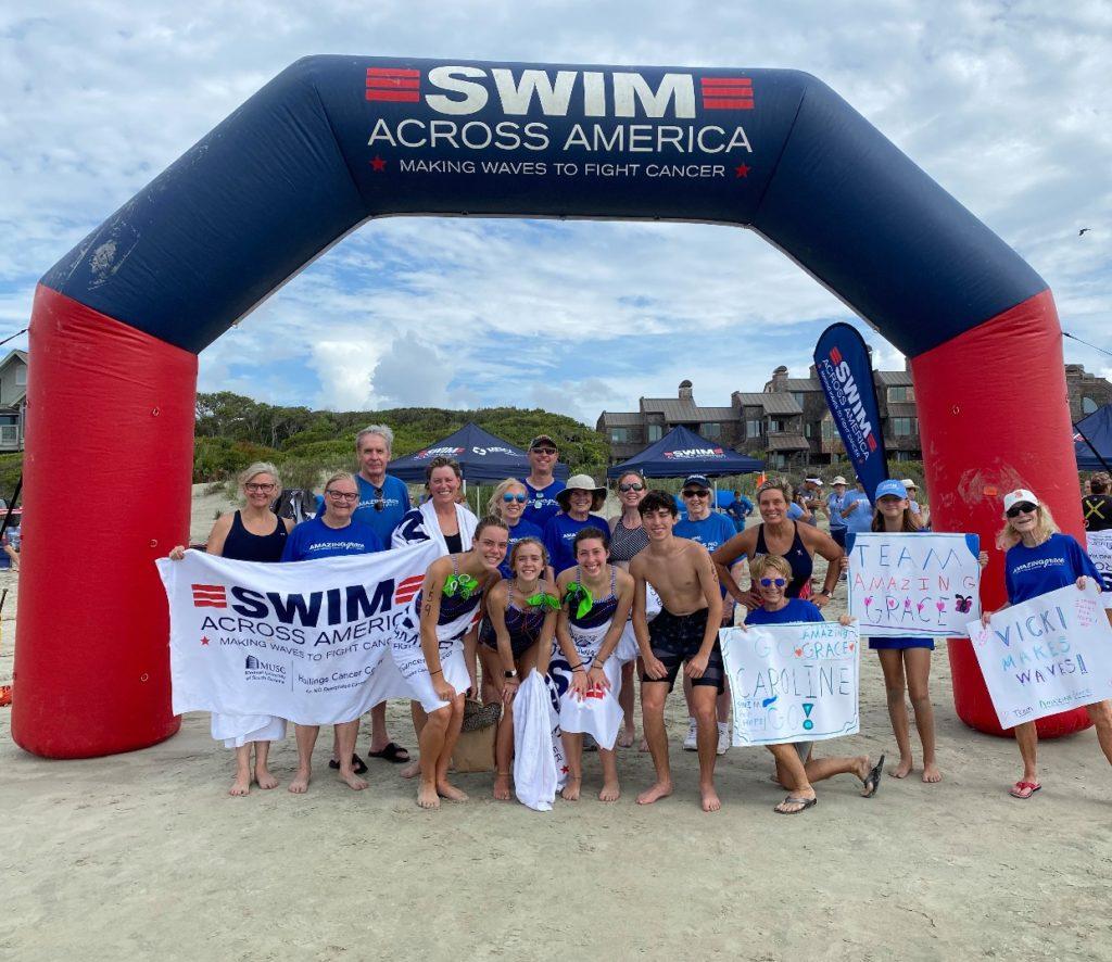 Team Amazing Grace for Swim Across America