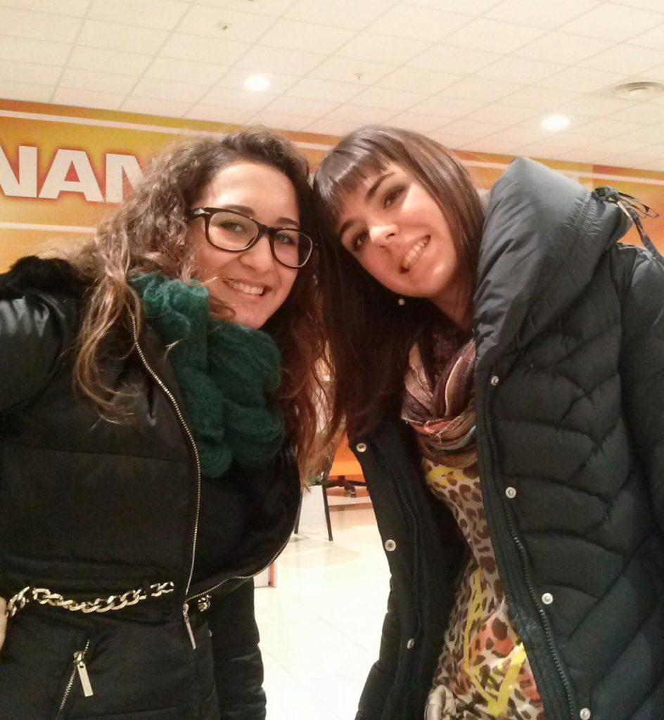 Caterina Alagna and Melissa Fodera