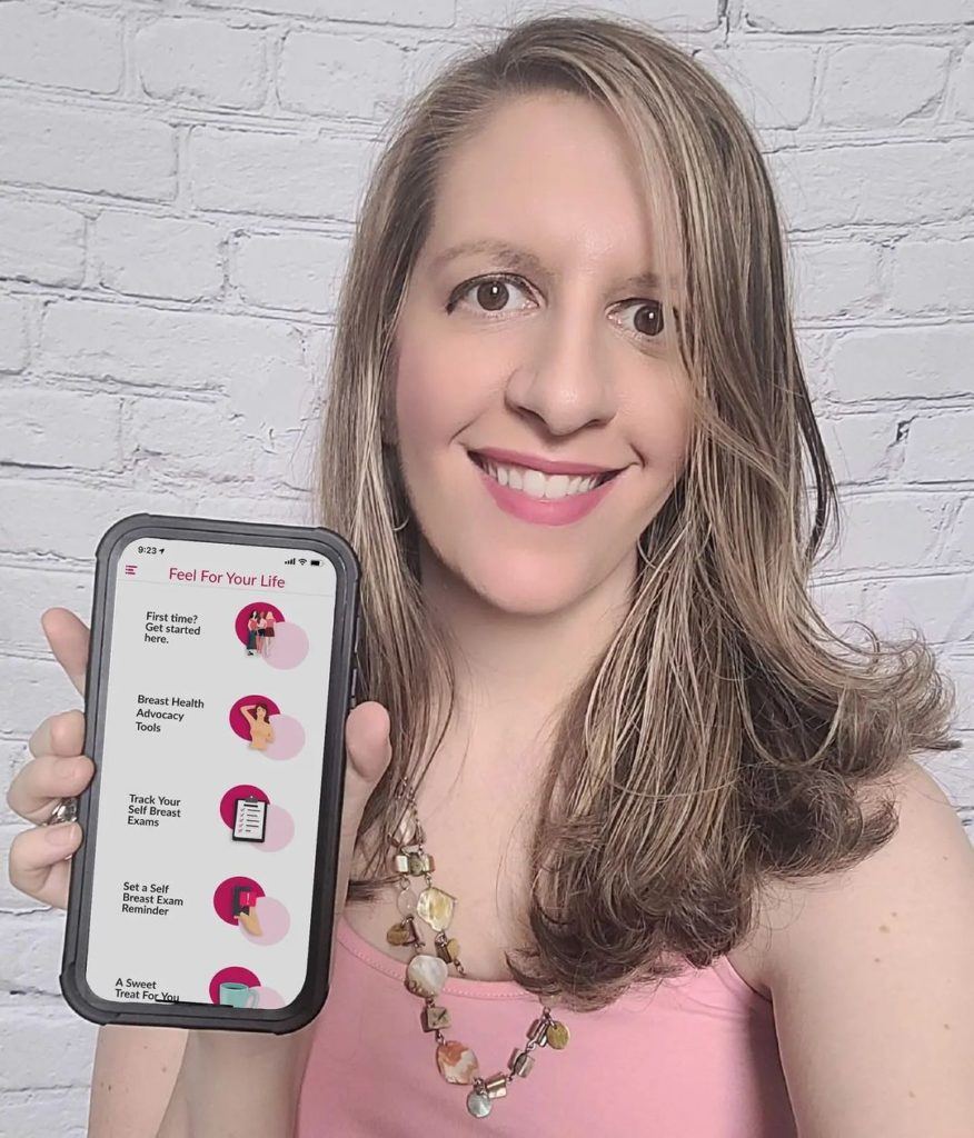 Jessica Baladad and Feel For Your Life app