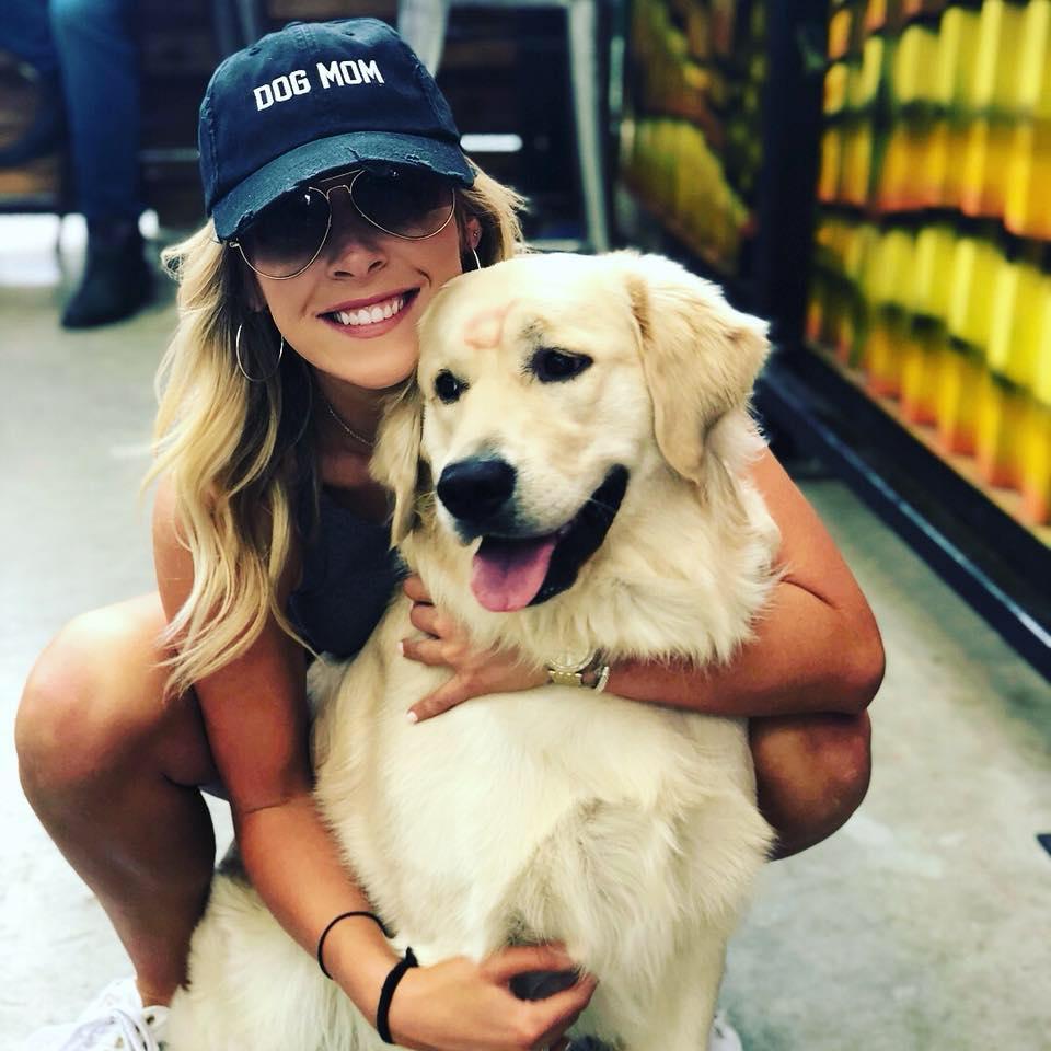 Mackenzie Koch and her dog Riggins