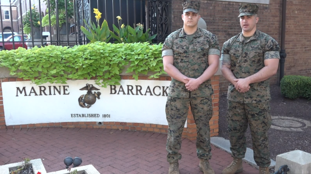 two US Marines