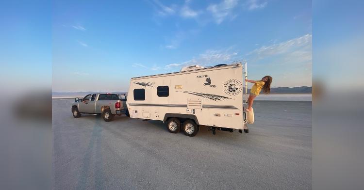 Woody Faircloth and Luna of Emergency RV