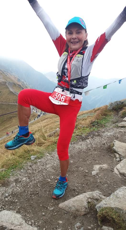 Barbara Prymakowska mountain runner